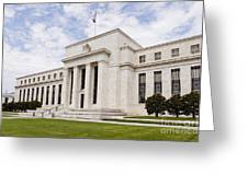 Federal Reserve Building No2 Greeting Card