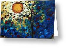 Feel The Sensation By Madart Greeting Card