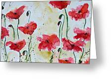 Feel The Summer 1 - Poppies Greeting Card
