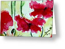 Feel The Summer 2 - Poppies Greeting Card