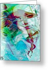 Feeling Abstract Greeting Card