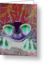 Feeling Froggy V2 Greeting Card
