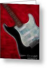 Fender-9668-fractal Greeting Card