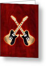 Fender Telecaster Custom Greeting Card