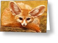 Fennec Fox Greeting Card
