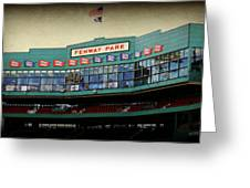 Fenway Memories - 2 Greeting Card