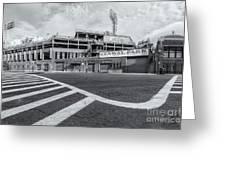 Fenway Park V Greeting Card