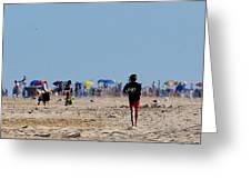 Beach Scene - Fenwick Island Delaware Greeting Card