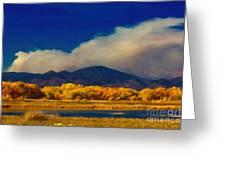 Fern Lake Fire Greeting Card
