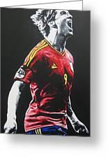 Fernado Torres - Spain Greeting Card