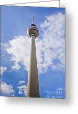 Fernsehturm Berlin Greeting Card