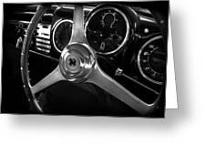 Ferrari 166 Interior Greeting Card