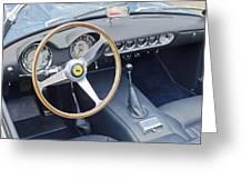 Ferrari 250 Gt Scaglietti Swb California Spyder 1961 Greeting Card