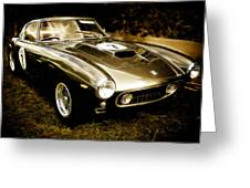 Ferrari 250 Gt Swb Greeting Card by Phil 'motography' Clark