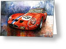 Ferrari 250 Gto 1963 Greeting Card