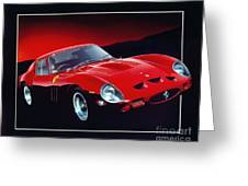 Ferrari 250 Gto Greeting Card