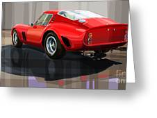 Ferrari 250 Gto Greeting Card