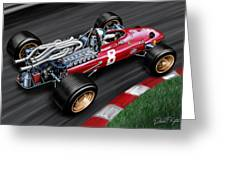 Ferrari 312 F-1 Car Greeting Card