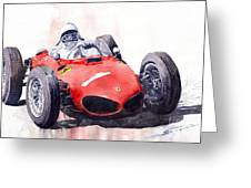 Ferrari Dino 156 F1 1961  Greeting Card
