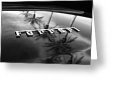 Ferrari Emblem 10 Greeting Card