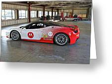 Ferrari F458 A Greeting Card