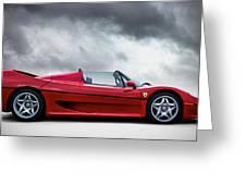Ferrari F50 Greeting Card