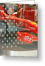 Ferrari Formula One Greeting Card