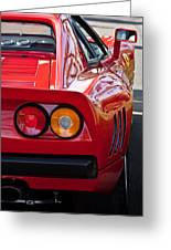 Ferrari Gto 288 Taillight -0631c Greeting Card