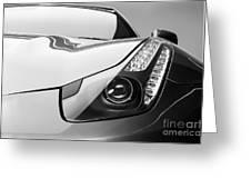 Ferrari Headlight Greeting Card