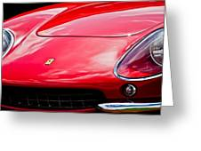 Ferrari Hood Emblem -0390c Greeting Card