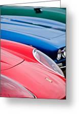 Ferrari Hood Emblem -0630c Greeting Card