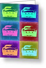 Ferrari Pop Art 2 Greeting Card