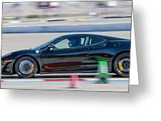 Ferrari Racing Greeting Card