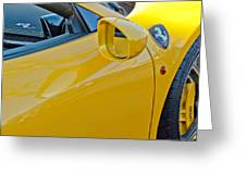 Ferrari Side Emblem Greeting Card
