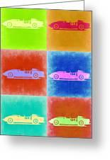 Ferrari Testarossa Pop Art 2 Greeting Card