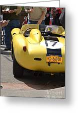 Ferrari Testerosa Greeting Card