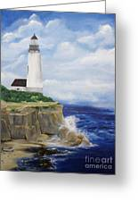 Ferrels Lighthouse Greeting Card