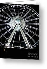 Ferris Wheel 10 Greeting Card