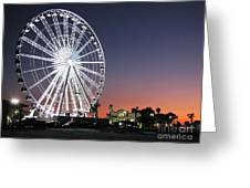 Ferris Wheel 16 Greeting Card