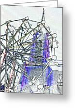 Ferris Wheel 2 Greeting Card