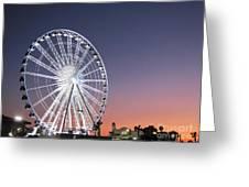 Ferris Wheel 21 Greeting Card