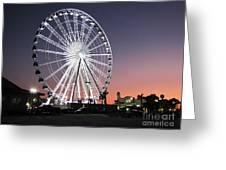 Ferris Wheel 22 Greeting Card