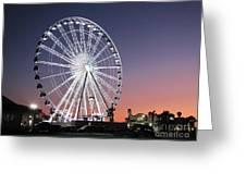 Ferris Wheel 23 Greeting Card