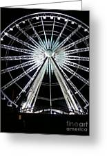 Ferris Wheel 7 Greeting Card