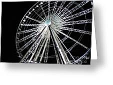 Ferris Wheel 9 Greeting Card