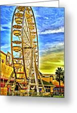 Ferris Wheel In Lb Greeting Card