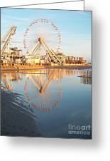 Ferris Wheel Jersey Shore 2 Greeting Card