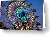 Ferris Wheel, Kentucky State Fair Greeting Card