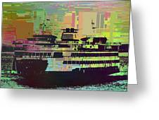 Ferry Cubed 2 Greeting Card