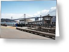 Ferry Terminal Greeting Card